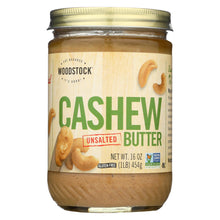Load image into Gallery viewer, Woodstock Cashew Butter - Unsalted - 16 Oz.