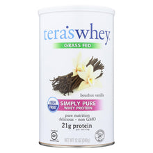 Load image into Gallery viewer, Teras Whey Protein Powder Whey - Bourbon Vanilla - 12 Oz