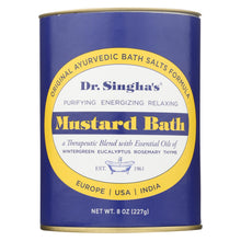 Load image into Gallery viewer, Dr. Singha's Mustard Bath - 8 Oz