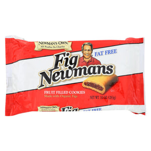 Newman's Own Organics Fig Newman's - Fat Free - Case Of 6 - 10 Oz.