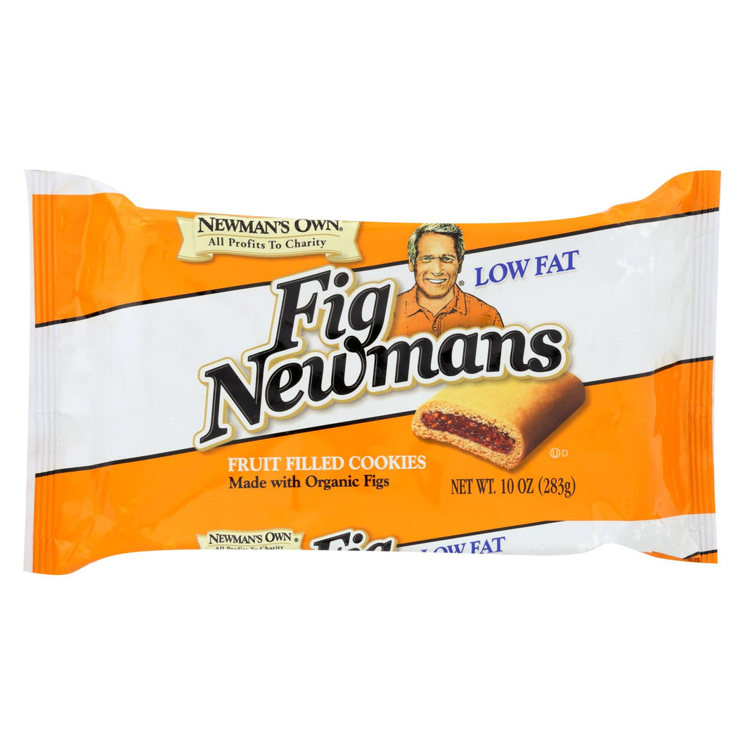 Newman's Own Organics Fig Newman's - Low Fat - Case Of 6 - 10 Oz.