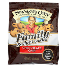 Load image into Gallery viewer, Newman's Own Organics Cookies - Chocolate Chip - Case Of 6 - 7 Oz.