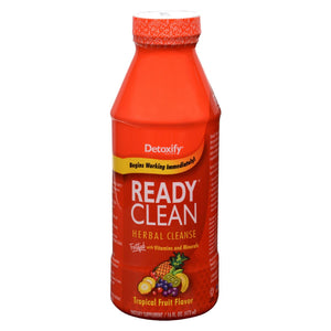 Detoxify - Ready Clean Herbal Natural Tropical - 16 Fl Oz