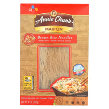 Load image into Gallery viewer, Annie Chun's Maifun Brown Rice Noodles - Case Of 6 - 8 Oz.