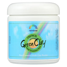 Load image into Gallery viewer, Rainbow Research French Green Clay Facial Treatment Mask - 8 Oz