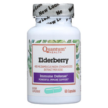 Load image into Gallery viewer, Quantum Elderberry Immune Defense Extract - 400 Mg - 60 Capsules