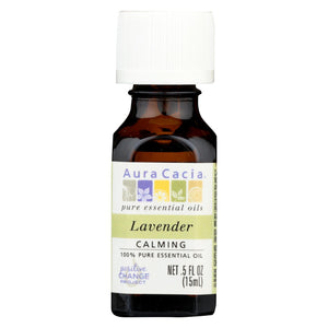Aura Cacia - Pure Essential Oil Lavender - 0.5 Fl Oz