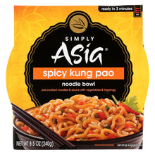 Load image into Gallery viewer, Simply Asia Noodle Bowl - Spicy Kung Pao - Case Of 6 - 8.5 Oz.