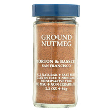 Load image into Gallery viewer, Morton And Bassett Seasoning - Nutmeg - Ground - 2.3 Oz - Case Of 3