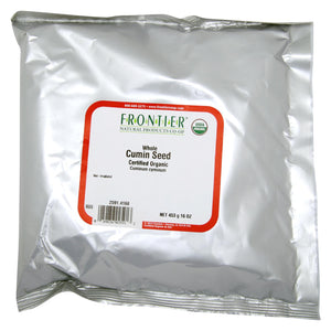 Frontier Herb Cumin Seed - Organic - Whole - Bulk - 1 Lb