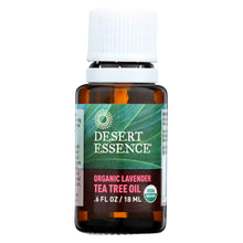 Load image into Gallery viewer, Desert Essence - Oil Lavender And Tea Tree - 0.6 Fl Oz