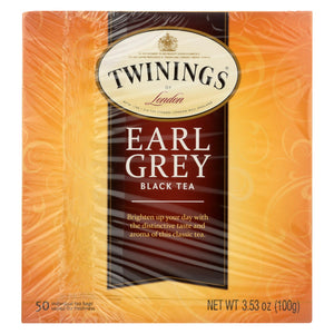 Twining's Tea Green Tea - Earl Grey - Case Of 6 - 50 Bags