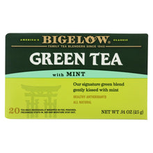 Load image into Gallery viewer, Bigelow Tea Green Tea - With Mint - Case Of 6 - 20 Bag