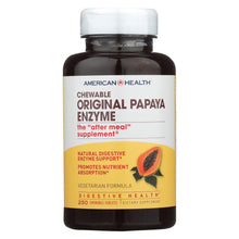 Load image into Gallery viewer, American Health - Original Papaya Enzyme Chewable - 250 Tablets