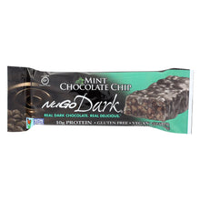 Load image into Gallery viewer, Nugo Nutrition Bar - Dark - Mint Chocolate Chip - 1.76 Oz - Case Of 12