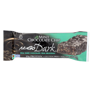 Nugo Nutrition Bar - Dark - Mint Chocolate Chip - 1.76 Oz - Case Of 12