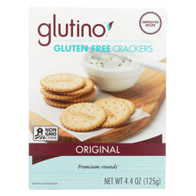 Load image into Gallery viewer, Glutino Original Crackers - Case Of 6 - 4.4 Oz.