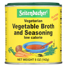 Load image into Gallery viewer, Seitenbacher Vegetarian Vegetable Broth And Seasoning - Case Of 6 - 5 Oz.