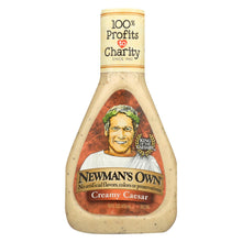Load image into Gallery viewer, Newman's Own Caesar Dressing - Creamy - Case Of 6 - 16 Fl Oz.