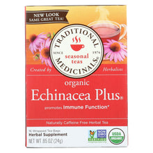 Load image into Gallery viewer, Traditional Medicinals Organic Echinacea Plus Herbal Tea - 16 Tea Bags - Case Of 6