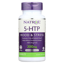 Load image into Gallery viewer, Natrol 5-htp Tr Time Release - 200 Mg - 30 Tablets