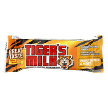 Load image into Gallery viewer, Tigers Milk Bar - Peanut Butter And Honey - 1.23 Oz - Case Of 24