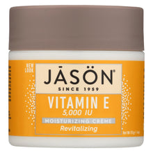 Load image into Gallery viewer, Jason Moisturizing Creme Revitalizing Vitamin E - 5000 Iu - 4 Oz