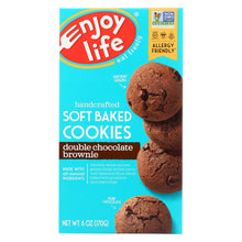 Load image into Gallery viewer, Enjoy Life - Cookie - Soft Baked - Double Chocolate Brownie - Gluten Free - 6 Oz - Case Of 6