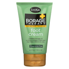 Load image into Gallery viewer, Shikai Borage Therapy Foot Cream Unscented - 4.2 Fl Oz