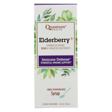 Load image into Gallery viewer, Quantum Elderberry Syrup - 4 Fl Oz