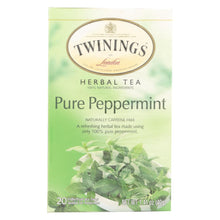 Load image into Gallery viewer, Twining's Tea Jacksons Of Piccadilly Tea - Pure Peppermint - Case Of 6 - 20 Bags