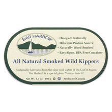 Load image into Gallery viewer, Bar Harbor - Smoked Wild Kippers - Case Of 12 - 6.7 Oz.