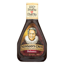 Load image into Gallery viewer, Newman's Own Balsamic Salad Dressing - Vinegar - Case Of 6 - 16 Fl Oz.