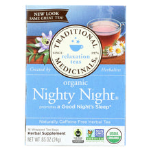 Load image into Gallery viewer, Traditional Medicinals Organic Nighty Night Herbal Tea - 16 Tea Bags - Case Of 6