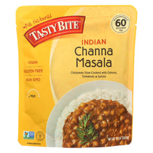 Load image into Gallery viewer, Tasty Bite Entree - Indian Cuisine - Channa Masala - 10 Oz - Case Of 6