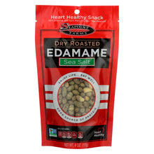 Load image into Gallery viewer, Seapoint Farms Dry Roasted Edamame - Sea Salt - Case Of 12 - 4 Oz.
