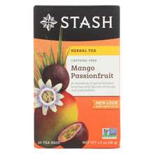 Load image into Gallery viewer, Stash Tea Passionfruit Herbal?tea - Mango - Case Of 6 - 20 Count