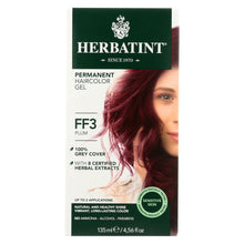 Load image into Gallery viewer, Herbatint Haircolor Kit Flash Fashion Plum Ff3 - 1 Kit