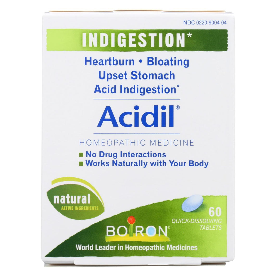 Boiron - Acidil - 60 Tablets
