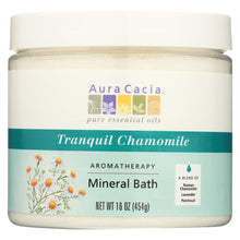 Load image into Gallery viewer, Aura Cacia - Aromatherapy Mineral Bath Tranquility Chamomile - 16 Oz