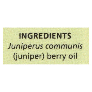 Aura Cacia - Essential Oil Juniper Berry - 0.5 Fl Oz