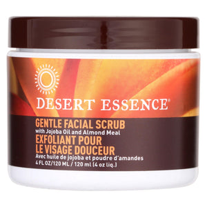 Desert Essence - Facial Scrub Gentle Stimulating - 4 Fl Oz