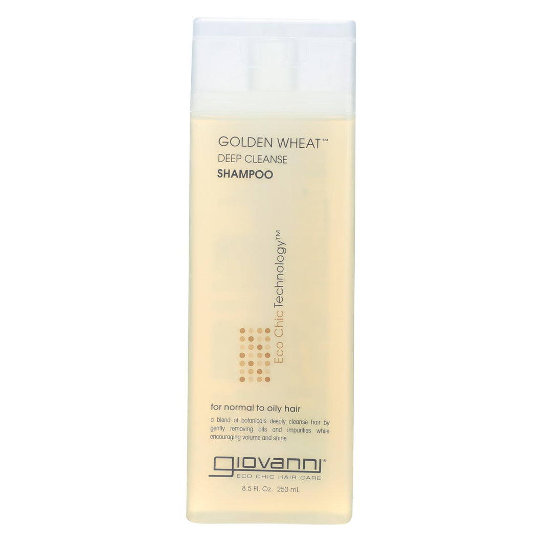 Giovanni Deep Cleanse Shampoo Golden Wheat - 8.5 Fl Oz
