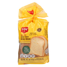 Load image into Gallery viewer, Schar Artisan Baker Bread - White - Case Of 6 - 14.1 Oz.