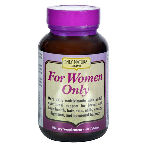 Only Natural For Women - 60 Tablets