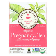 Load image into Gallery viewer, Traditional Medicinals Organic Pregnancy Herbal Tea - 16 Tea Bags - Case Of 6