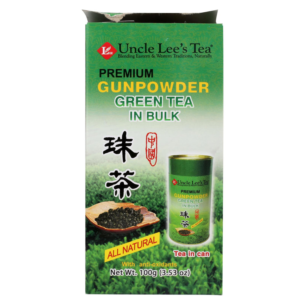 Uncle Lee's Premium Gunpowder Green Tea In Bulk - 5.29 Oz