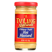 Load image into Gallery viewer, Ty Ling Mustard - Chinese - Hot - Case Of 12 - 4 Oz