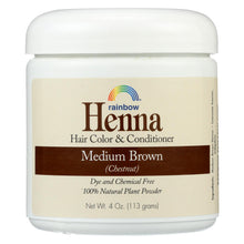 Load image into Gallery viewer, Rainbow Research Henna Hair Color And Conditioner Persian Medium Brown Chestnut - 4 Oz