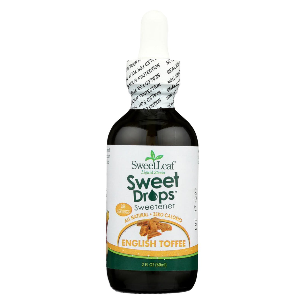 Sweet Leaf Sweet Drops Sweetener English Toffee - 2 Fl Oz